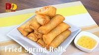 Fried Spring Rolls | Crispy Spring Rolls | Thai Food | ปอเปี๊ยะทอด | Po Pia Tod